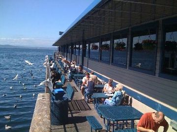 Happy Hour At Seattle 39 S Colorful Waterfront Pier 54 Seattle FUN Seat