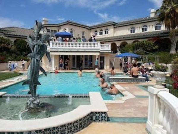 Image result for singles mansion pool party
