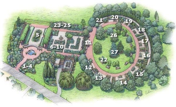 Miles Hike US National Arboretum Cherry Blossom Spring View - Us national arboretum google maps