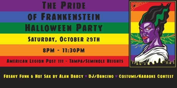 come to the pride of frankenstein halloween party oct 29th lgbt tampa bay meetup tampa fl meetup - Halloween Tampa Fl