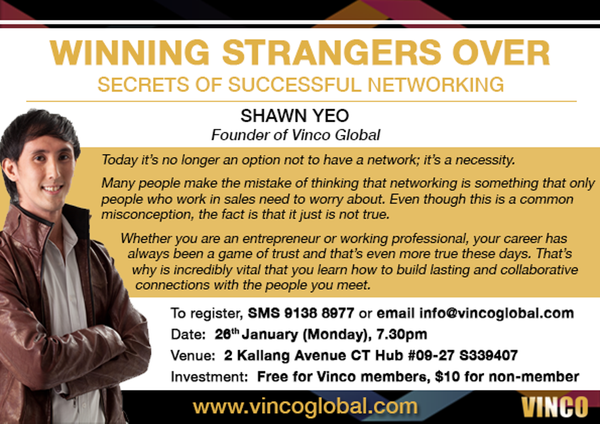 Winning Strangers Over - Secrets of Successful Networking
