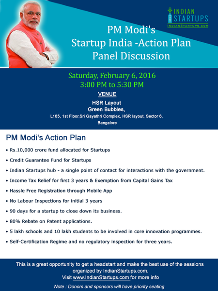 PM Modi Action Plan Event
