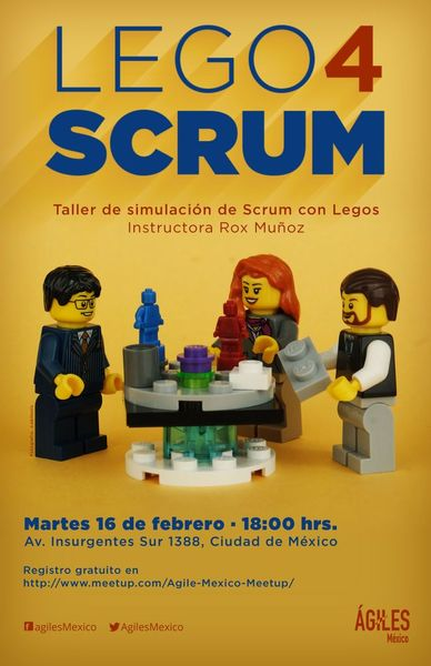 [CDMX] Lego 4 Scrum