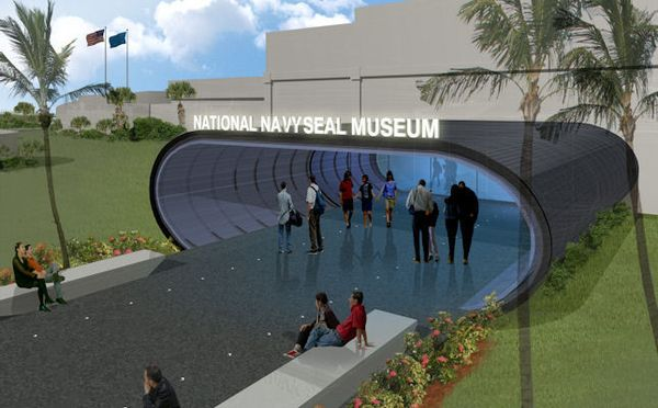 a visit to the navy seal museum A custom-built coronado home is open for tours until the end of september with a portion of the proceeds benefiting the navy seal foundation.