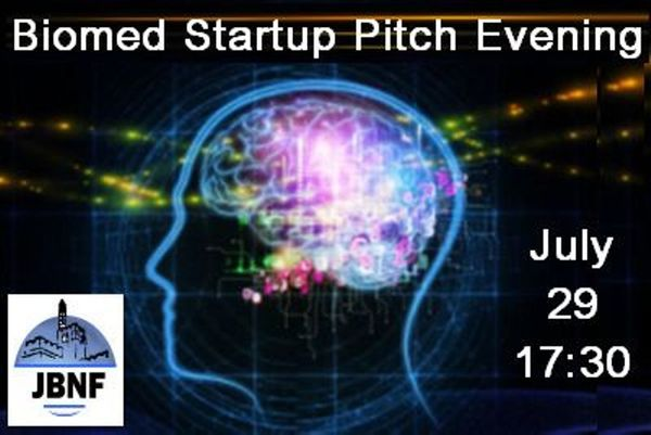 JBNF Biomed Startup Pitch Evening
