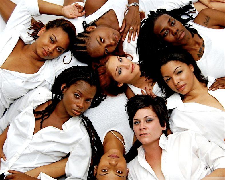 white and black women having sex