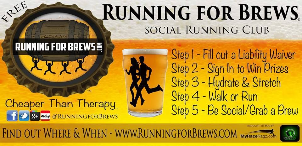 Free social run - every Monday! Come run, dri