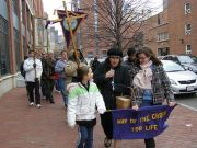 Annual Way of the Cross for Life Procession Boston