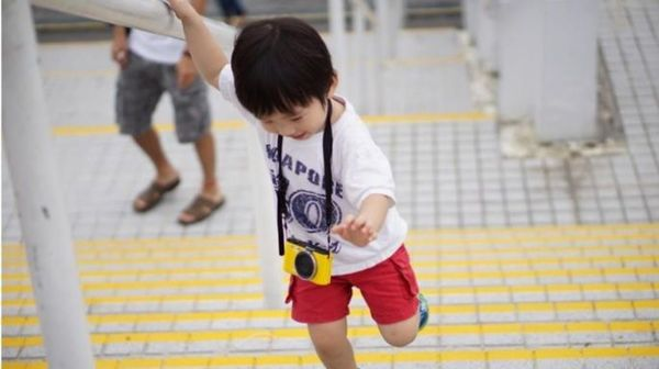 Let's Step, Jump, and Climb to Give! starting at Clarke Quay Singapore