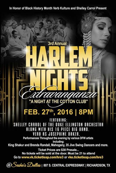 The 3rd Annual Harlem Renaissance Fest: Night at the ...