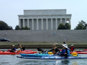 canoeing in dc