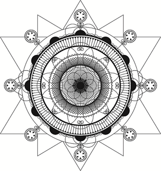 Sacred Geometry Symbols 3d Of What Is