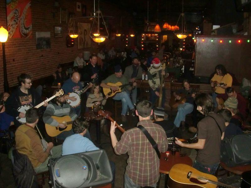 Monday night jam at Conor's in Ballard