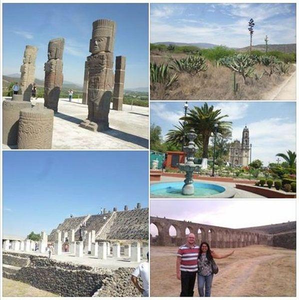 Day trip to the archeological site of Tula, Tepozotlán and Los Arcos de Xalpa