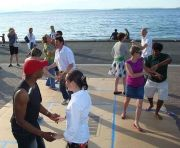 Alki Beach Out Door Salsa Dance Party