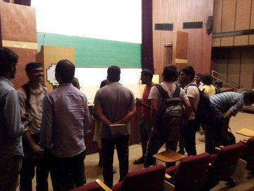 Pythonistas discussing