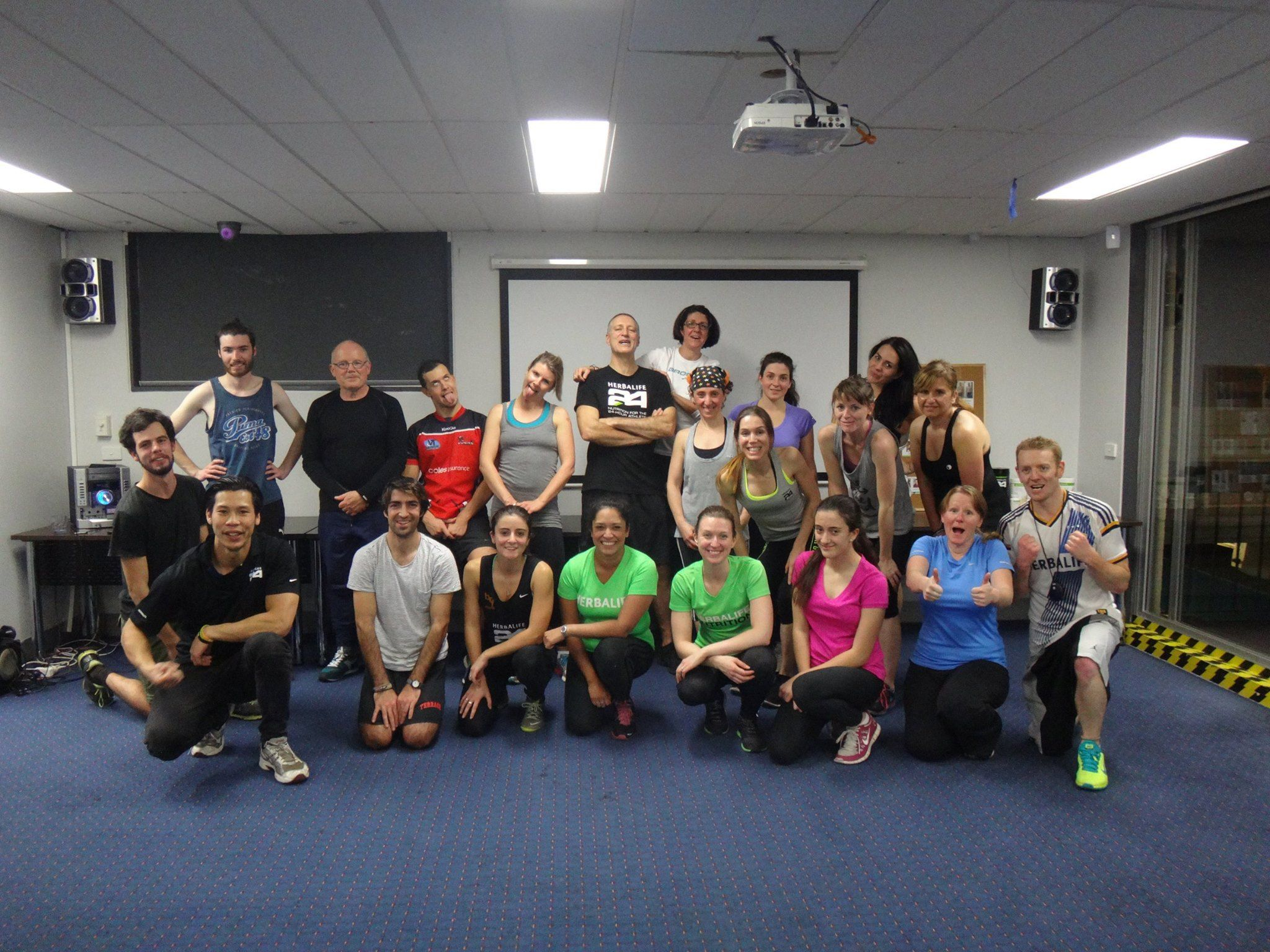 Fun Free Thursday Group Workout Fitzroy Bowling And