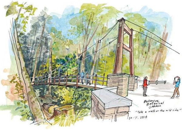 Bellevue roller coaster and parks 11k 5k traditional event guided walk