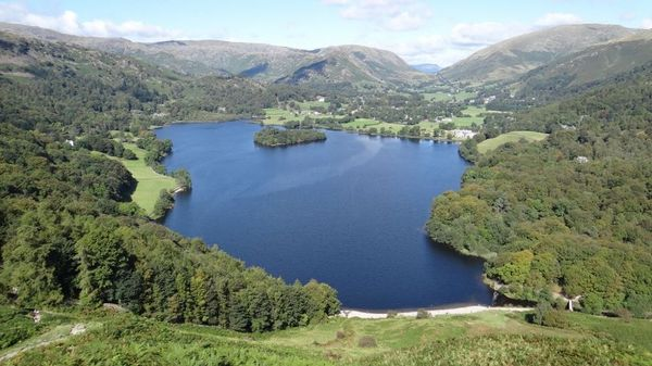 Yoga hiking weekend in Grasmere