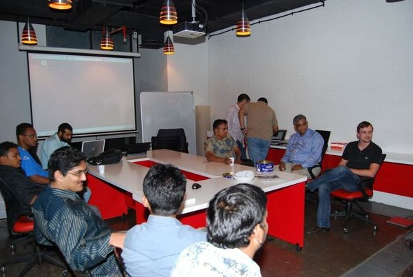 Guys at UAE Linux meetup