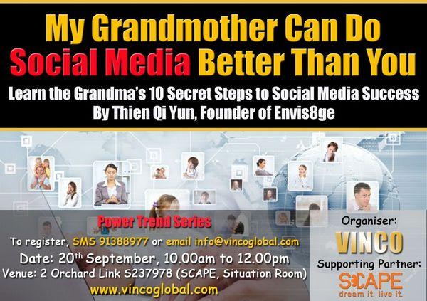 My Grandma can do Social Media better than you