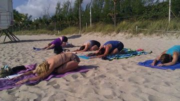 Ft. Lauderdale BEACH YOGA by DONATION! - the yoga