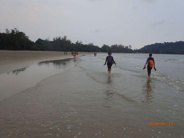 Refreshing Gunang Arong Leisure Hike  starting at Gunung Arong Recreational Forest Mersing Johor Malaysia