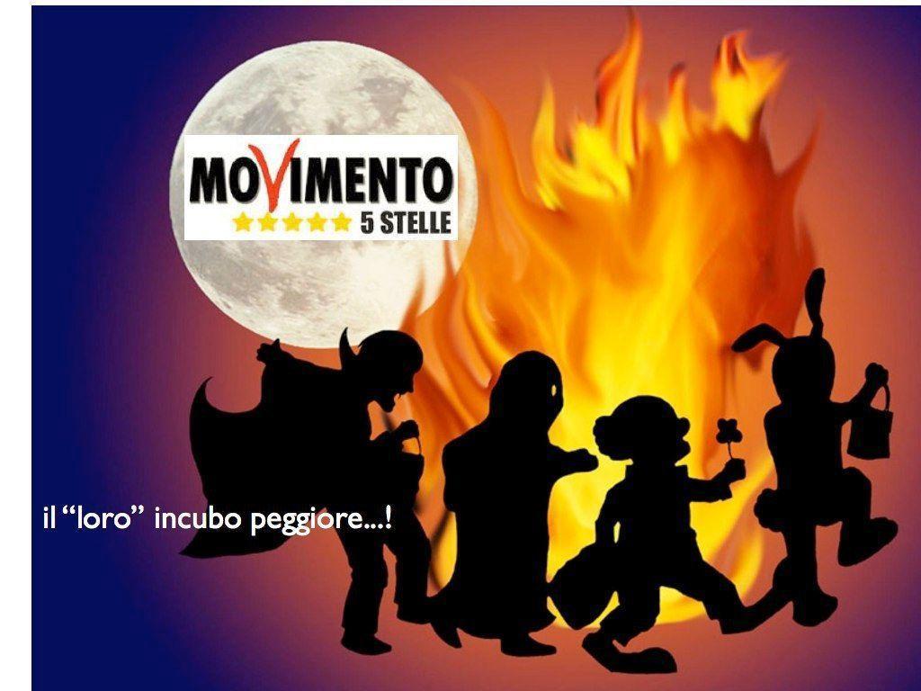 Festa halloween a 5 stelle 26 ottobre movimento 5 for Movimento 5 stelle camera