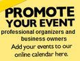 Promote your event!