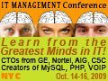 IT Management Conference - New York City