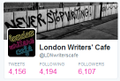Follow @ldnwriterscafe